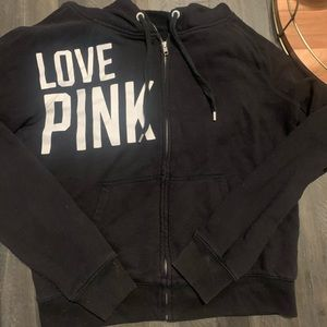 Black PINK zip up
